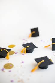 Mini Graduation Caps Cupcake Toppers Diy Oh Happy Day Diy