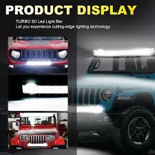Light Bar 5d Details About 22inch 5d Led Light Bar 4inch Pods Lights Bottom Bumper For Polaris 4 Wheeler