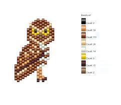 Life Is Good Ground Owl Seed Bead Chart