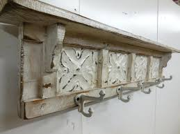 Coat Rack Attached To Wall White Wall Coat Rack Mounted With Shelf Home Decorations Racks 80