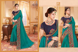 Designer Saree 2019 Vishal Fashions Aykon 14094 14105 Series Heavy Designer