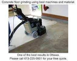 concrete floor grinding ottawa
