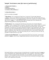 Employee Performance Letter Sample Poor Job Performance Examples Affordacart Com