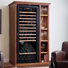 Cabinet With Wine Cooler Xl Custom Wine Cellar Cabinet With Shelves Wine Enthusiast