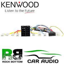 kenwood kvt 725dvd car radio stereo 16 pin wiring harness loom iso kenwood kvt 828dvd car radio stereo 16 pin wiring harness loom iso lead adaptor