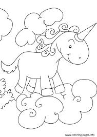 Disegni Da Colorare Degli Unicorni Sulle Nuvole Blogmammait