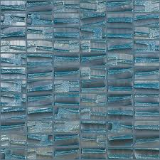 elida ceramica textured mist glass mosaic square indoor outdoor wall tile common 12
