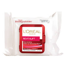 cleansing wipes dry l oreal paris revitalift wipes 25 pack
