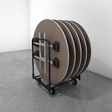 hi5 folding round table carts 2016
