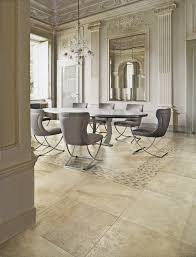 48 inch round dining table dining room modern with aura ceramic ceramic tile image by stonepeak ceramics