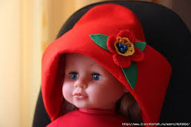 Красная шапочка из фетра + МК. Обсуждение на LiveInternet ...