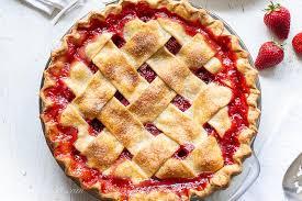 strawberry rhubarb pie recipe saving