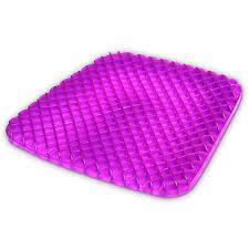Egg Crate Design Details About Gel Seat Cushion Comfort Purple Honeyb Egg Crate Design Pad Provides Excellent
