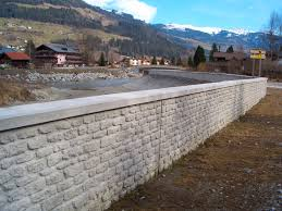 facade form liner for retaining walls stamped concrete mayenne