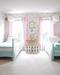 Pretty Bedrooms For Girls Minimalist Painting