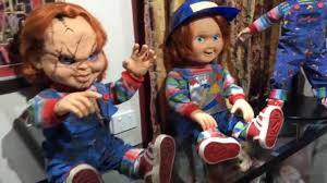 life size chucky doll life size chucky and good guys doll collection childs play youtube