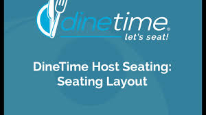Dinetime Host Seating Seating Layout