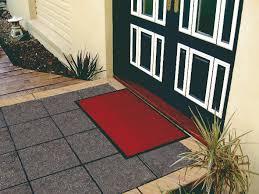 floor shield entrance mat at door