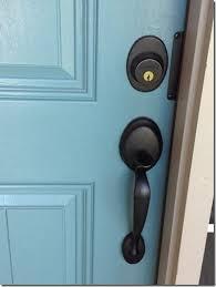 front door handles. Brilliant Door Painting The Front Door Love Colored Door With Black Knobs In Front Door Handles
