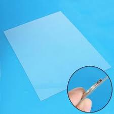 1mm transpa perspex acrylic plastic plexiglass sheet size 208mm x 295mm