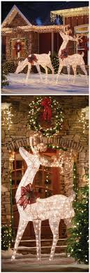 Outdoor Christmas Decoration Best 10 Outdoor Christmas Decorations Ideas On Pinterest