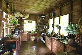 Tropical Kitchen Design Interesting Decorating Ideas
