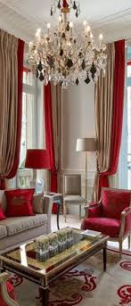 163 Best Curtain Ideas Images On Pinterest  Curtain Patterns Red Curtain Ideas For Living Room