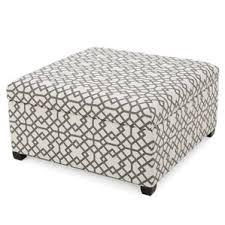 Trudel Fabric Storage Ottoman