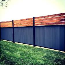 corrugated metal fence ideas sheet metal fence designs