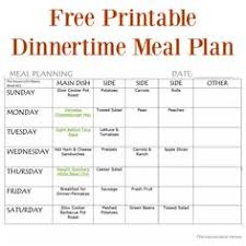 51 Best Meal Planning Images Family Meal Planning Free Printables