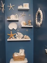 Bathroom Accessories Shelves Custom Diy White Wood Wall Mounted Beach Inspired Bathroom