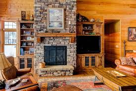image of good rustic fireplace mantels