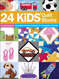 Quilting - Children & Baby Patterns - 24 Kids' Quilt Blocks &  Adamdwight.com