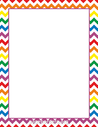 Small Picture Rainbow Chevron Border Intensamente Pinterest Chevron