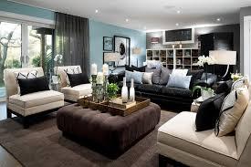 basement living room ideas. Interesting Design Blue And Brown Pictures For Living Room Jane Lockhart Basement Modern Ideas