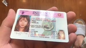 Driver Chicago License Indiana Licence Indianapolis Midwest Passport Id State Personalized Driver Items