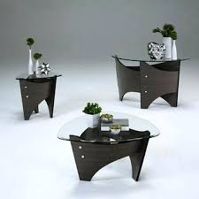 walnut round coffee table progressive furniture 3 piece round coffee table set in gray walnut 3 walnut round coffee table