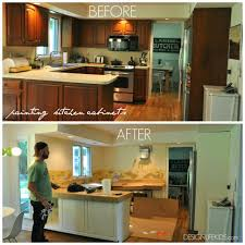 Repainting Kitchen Cabinets Diy Simple Home Decorating Ideas