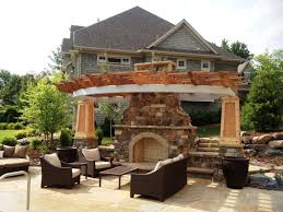 outdoor fireplace kits inspiration