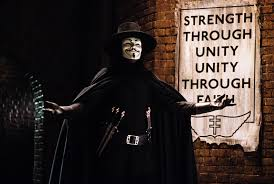"is v in v for vendetta a terrorist or a dom fighter  internet descriptions define v as ""an anarchist dom fighter who attempts to ignite a revolution through elaborate terrorist acts"