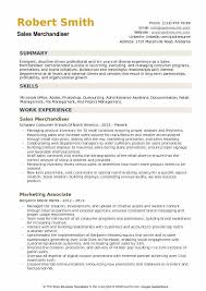 Sales Merchandiser Resume Samples Qwikresume