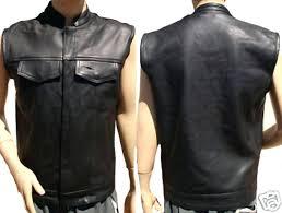mens leather vest with holster pockets jackets patterns mens leather vest