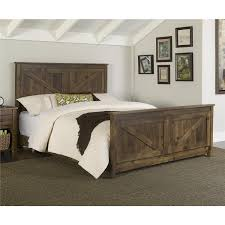 Made In Usa Bedroom Furniture Altra Farmington Queen Bed By Ameriwood Home Shopping Pine And