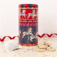 carousel duo tin of tea and biscuits a