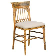 Wooden chair side Side View English Period Regency Accent Side Wooden Chair With Painted Scene Circa 1820 English Accent Antiques English Accent Antiques English Period Regency Accent Side Wooden Chair With Painted Scene