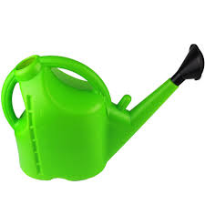 10l thick watering can plastic sprinkler watering kettle household long mouth high capacity gardening watering pot