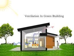 Ventilation in Green Building