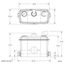 qwik jon® ultima toilet grinder zoeller pump company design tools