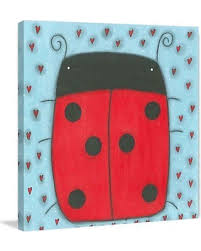 marmont hill ladybug wall art mh law 08 c 24 on wall art red dot with summer shopping deals on marmont hill ladybug wall art mh law 08 c 24