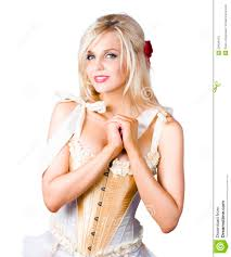Pinup Woman In Corselet Dress Stock Photo - Image: 29434470